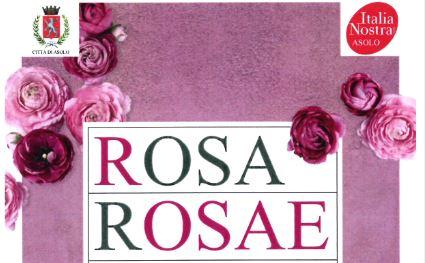 Asolo Giardini Aperti Rosa Rosae